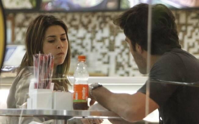 Fernanda Paes Leme e o namorado, Gregor Gracie