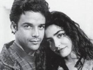 Beija-Flor (Ângelo Antônio) e Taís (Letícia Sabatella) em