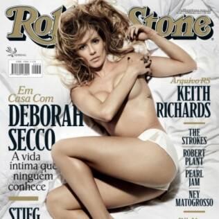 Deborah Secco na capa da Rolling Stone Brasil