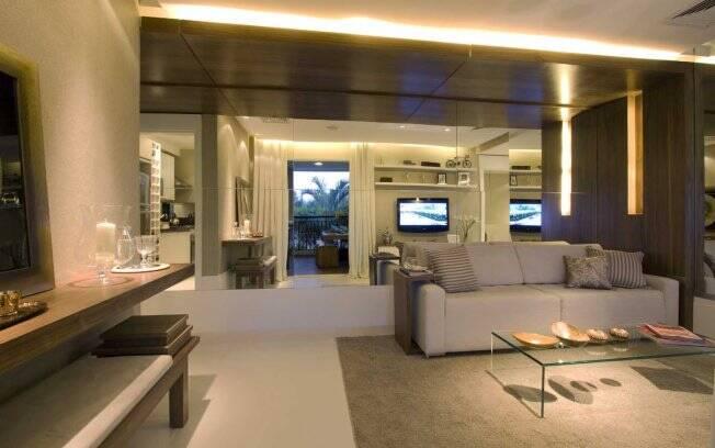 Um dos elementos mais procurados para transformar e ampliar ambientes, o espalho é um ótimo aliado na hora de aumentar a sensação de amplitude da casa