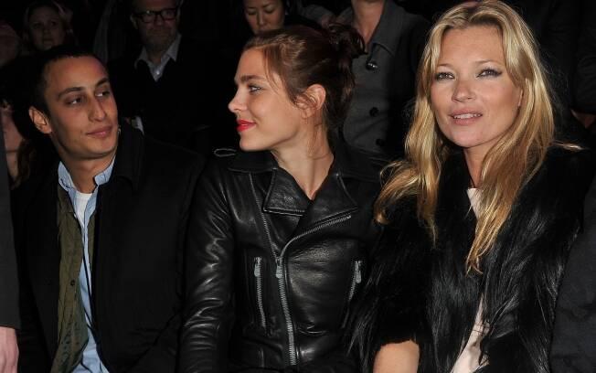 Alex Dellal, Charlotte Casiraghi e Kate Moss