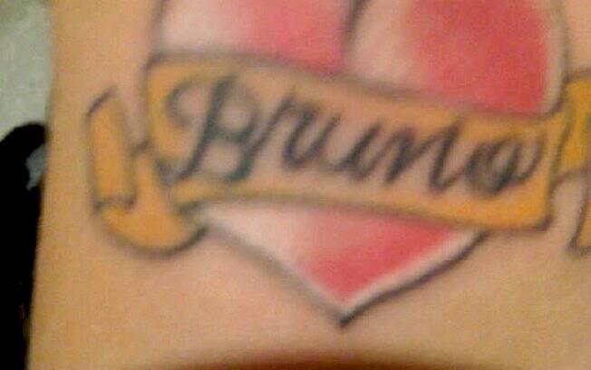 A tatoo de Dani Souza feita em homenagem ao namorado