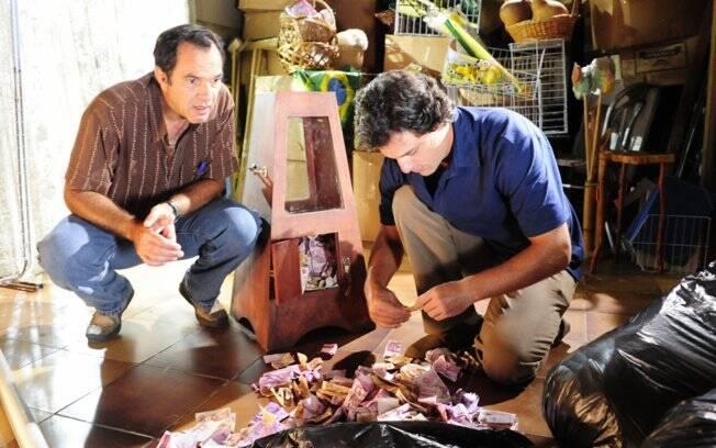 Humberto Martins e Rodrigo Lombardi em
