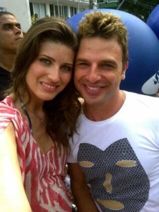 Michelle Alves e Cássio Reis