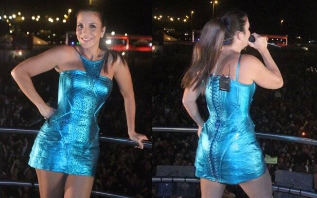Ivete Sangalo animou a noite de Brasília