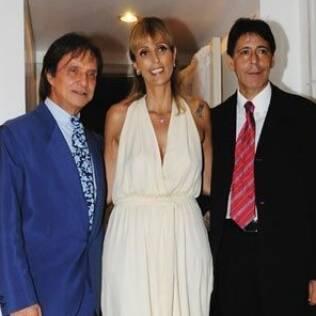 Roberto Carlos no casamento de Ana Paula com Paulinho Coelho em 2008