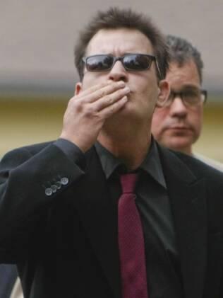 O ator Charlie Sheen