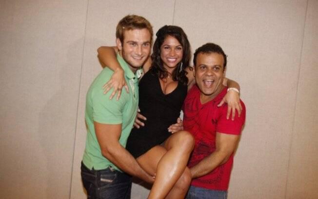 Wesley, Maria e Daniel, os finalistas do BBB11