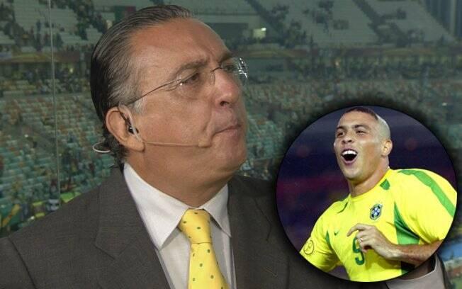 Gafe no jogo de despedida de Ronaldo