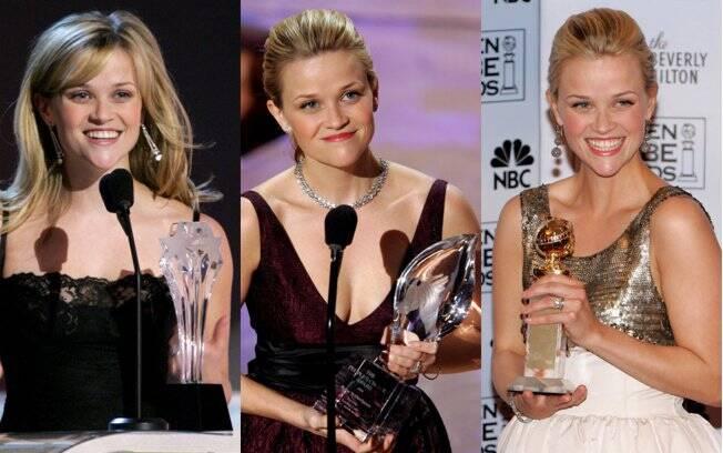 Reese Witherspoon recebeu três premiações de melhor atriz pelo filme ´´Johnny & June´´