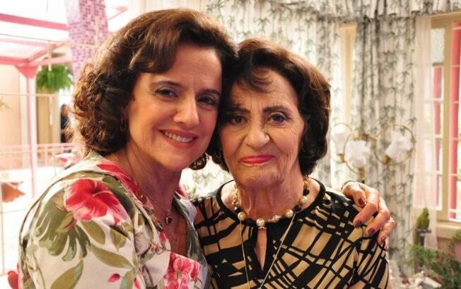 Marieta Severo e Laura Cardoso: Glória será a sogra de Dona Nenê