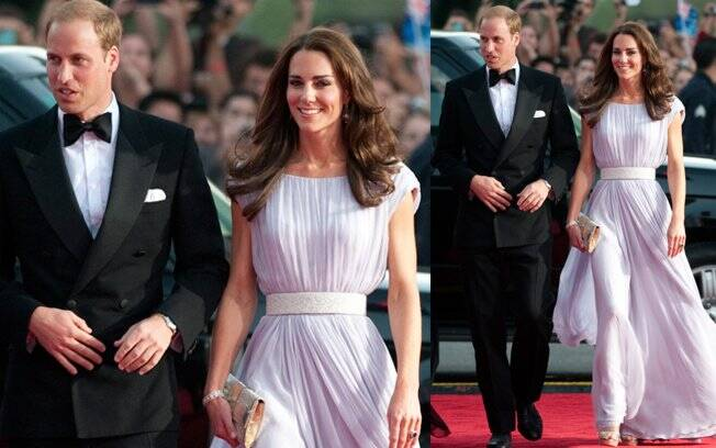 Os duques de Cambridge, William e Catherine, foram os grandes convidados do evento