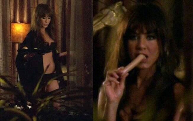 Jennifer Aniston nas cenas de
