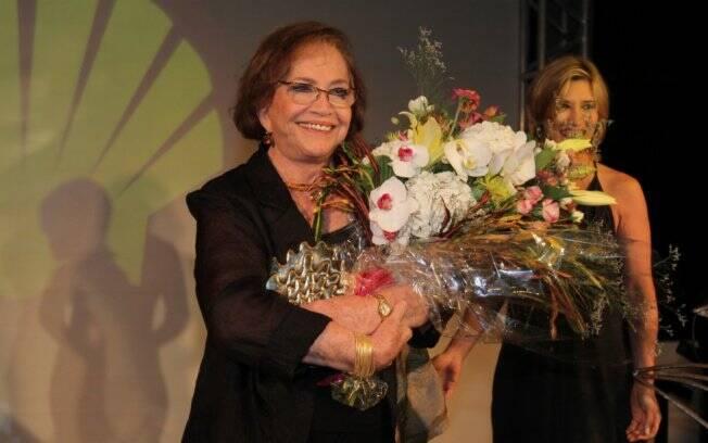 Nathalia Timberg foi homenageada especial pela magnitude de sua carreira teatral