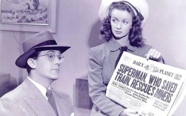 Noel Neill e Kirk Alyn em 1948