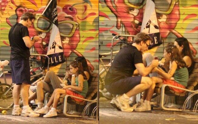 Herson Capri: noite com a família