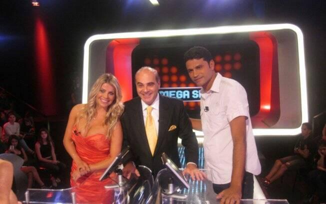 Karina Bacchi, Marcelo de Carvalho e Willian Machado