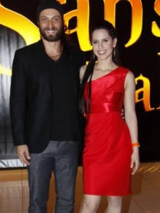 Fernando Pavão e Mel Lisboa vivem