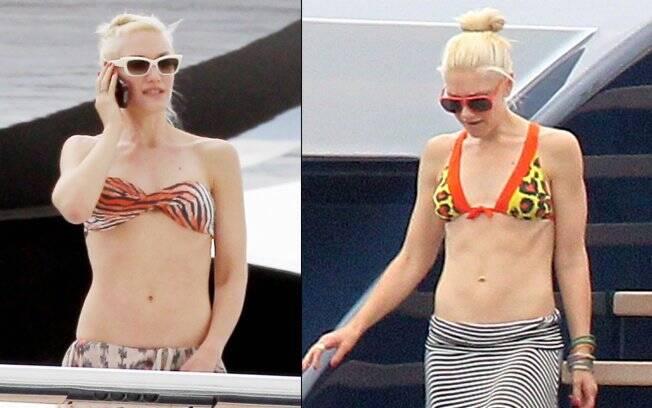 Gwen Stefani curtiu férias durante o Festival de Cannes