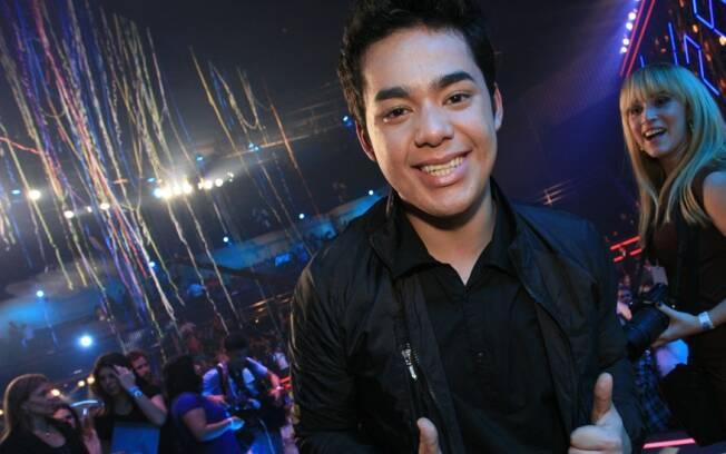 Higor Rocha: segundo colocado no Idolos 2011