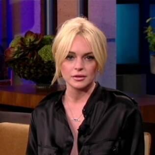 Lindsay Lohan no programa