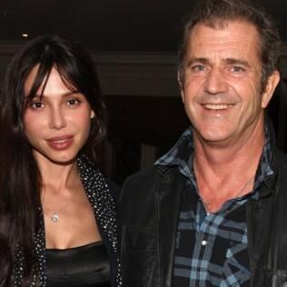 Mel Gibson e a segunda mulher Oksana Grigorieva: ator foi acusado de agressão