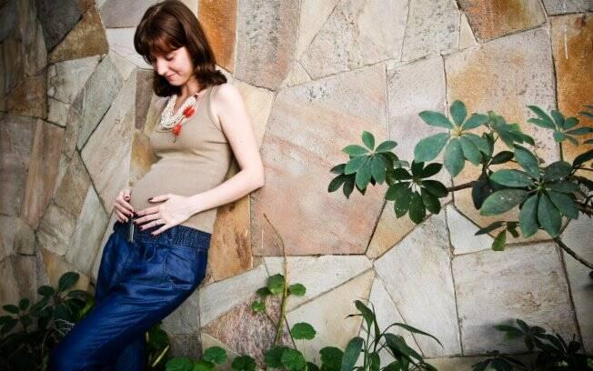 Juliana Cavani, 27 anos, grávida de quatro meses