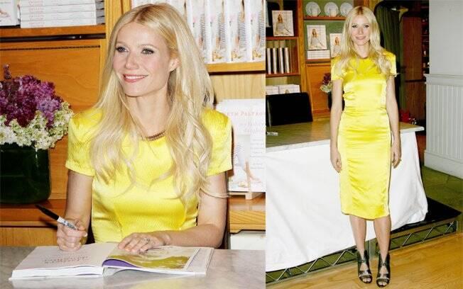 Lançamento do livro de receitas de Gwyneth Paltrow, em Beverly Hills, Califórnia