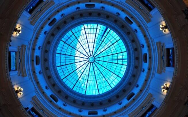 A bela cúpula do Centro Cultural Banco do Brasil