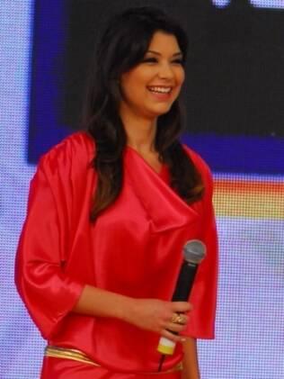 Amanda Françozo: nova apresentadora do