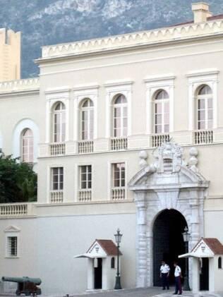 A fachada do Palácio de Mônaco
