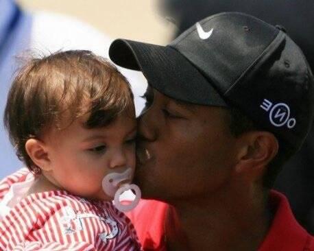 b549e9fad ...  span Tiger Woods e sua filha Sam Woods  span  -
