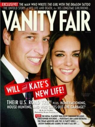 William e Kate na Vanity Fair