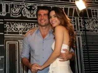 Eriberto Leão e Fernanda Machado