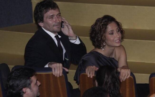 Uma das últimas aparições do casal foi em 30 de maio, no Grande Prêmio de Cinema