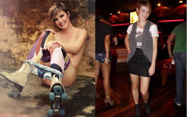 Diana: sexy apenas nas páginas da revista e estilo rock n' roll no dia a dia