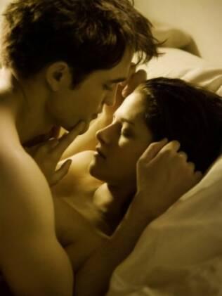 Robert Pattinson e Kristen Stewart na