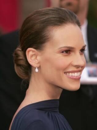 Hillary Swank no Oscar de 2005