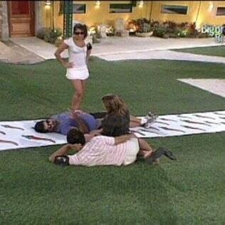 Rodrigão foi o centro da conversa no gramado