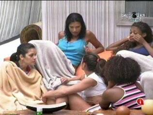 As meninas comentam atitude do líder