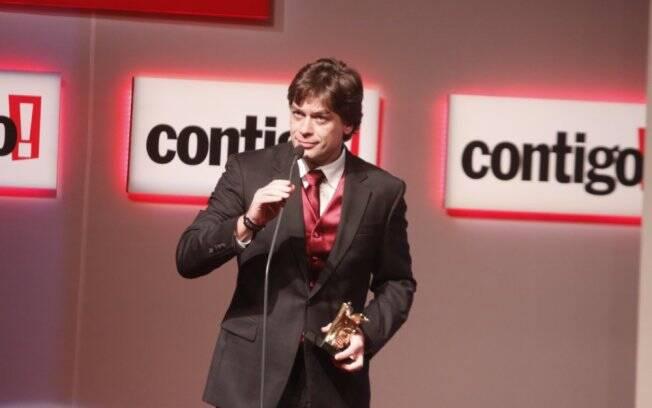 Fábio Assunção faturou o prêmio de melhor ator de série ou minissérie