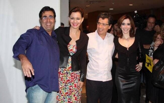 Orã Figueiredo, Julia Lemmertz, Paulo Betti e Deborah Evelyn