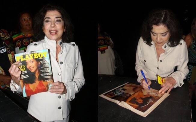 Betty Faria posou duas vezes para a Playboy: em agosto de 1978 e outubro de 1984