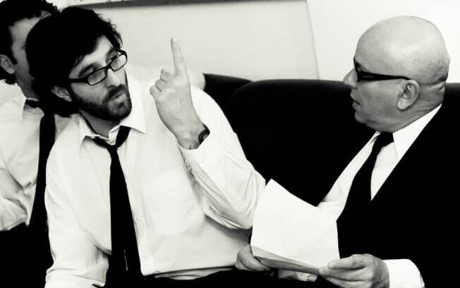 Rafinha e Marcelo discutem o tema do dia