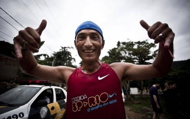Desafio e superação são as razões que motivam Jaime Maria da Rocha para a maratona