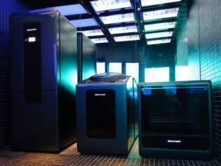 Protótipos da geladeira, do fogão e da máquina de lavar do futuro, apresentados pela Brastemp