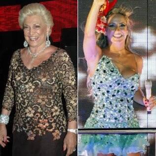Hebe Camargo e Claudia Leitte