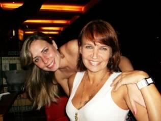 Tatiana Boschilia e a mãe Liliana Boschilia
