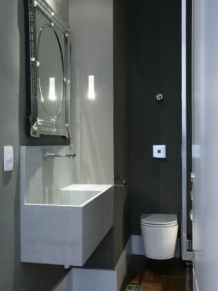Racionalize a área útil dos lavabos a fim de oferecer conforto e praticidade ao usuário
