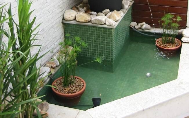 Fontes em casa ajudam a refrescar o ambiente